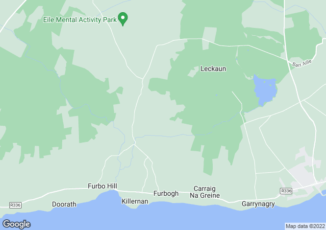 Map for Poilini, Furbo, Co Galway, H91 AP2N