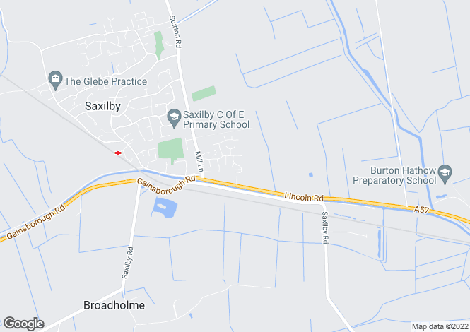 Map for Ingamells Drive, Saxilby, Lincoln, LN1 2WX