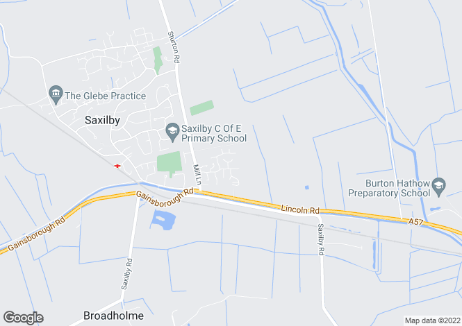 Map for Macphail Crescent, Saxilby, Lincoln, Lincolnshire
