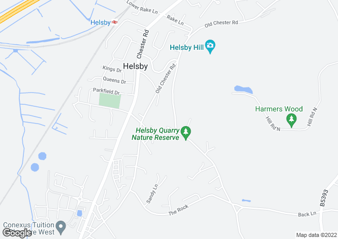 Map for Windcliffe Alvanley Road, Helsby, Frodsham WA6