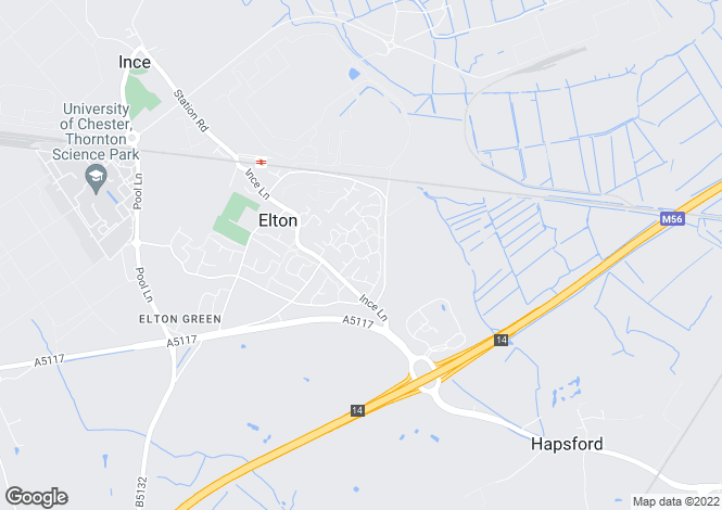 Map for Holm Drive, Elton, Cheshire