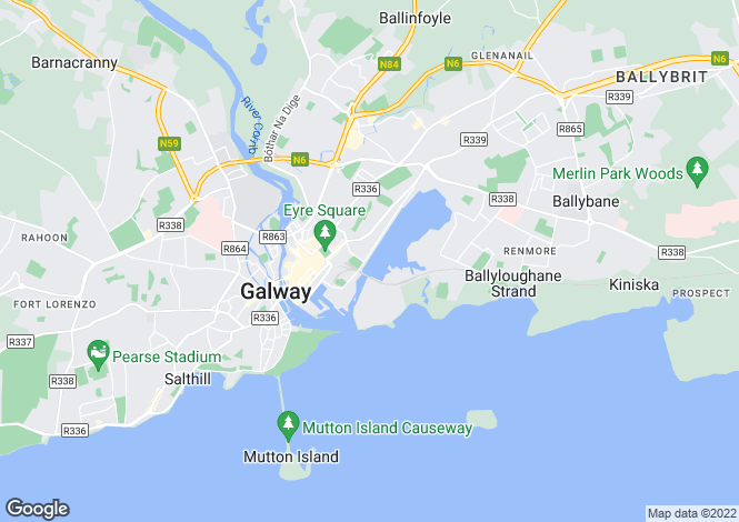Map for Galway, Galway