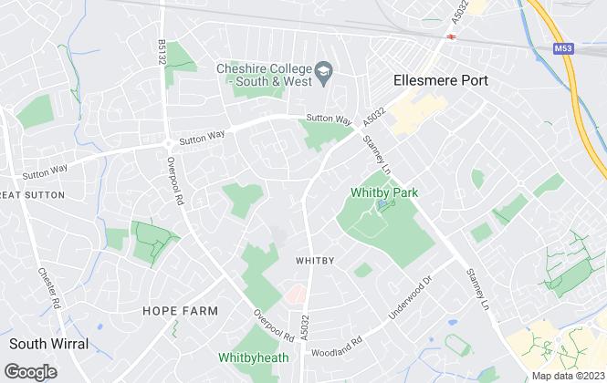 Map for GPM Properties Ltd, Ellesmere