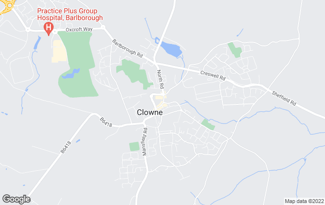 Map for Heywood Estates Sales & Lettings, Clowne