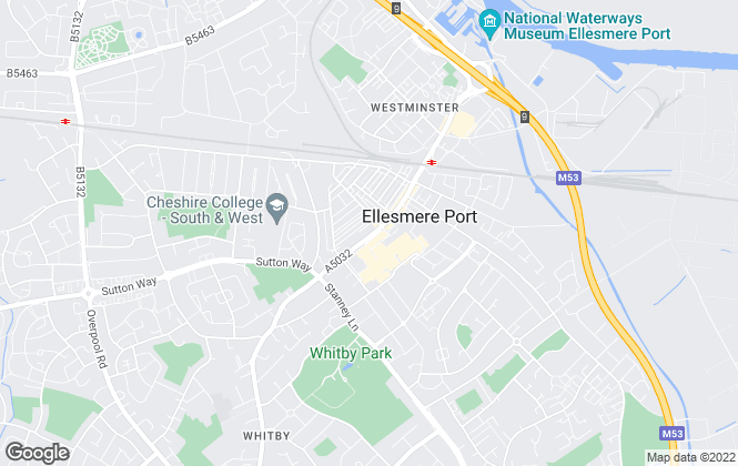 Map for Clive Watkin, Ellesmere Port