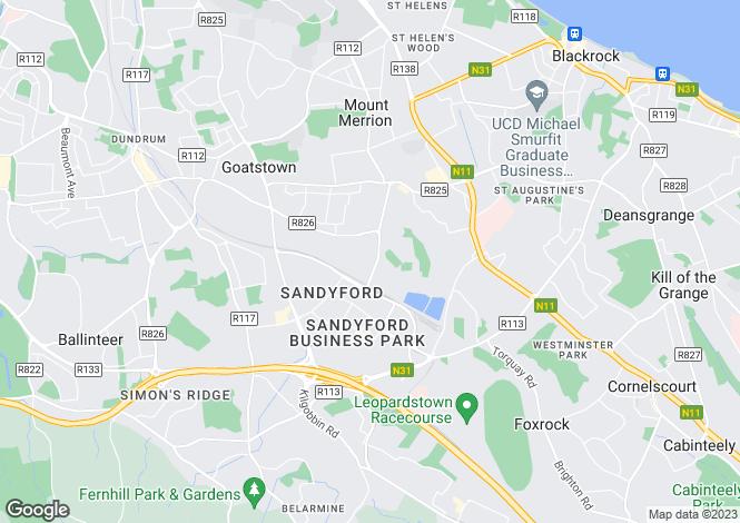Map for 55 Stillorgan Wood, Stillorgan, Co Dublin, A94 D802