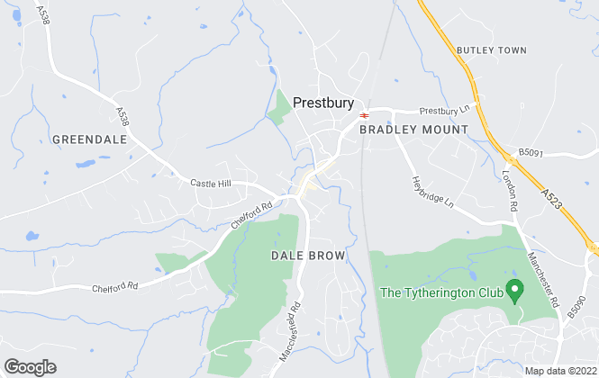Map for Holmes-Naden Estate Agents, Prestbury