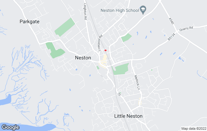 Map for Constables, Neston