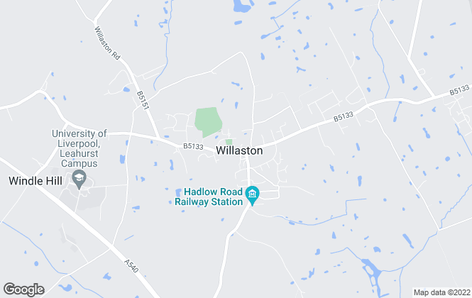 Map for Clive Watkin, Willaston
