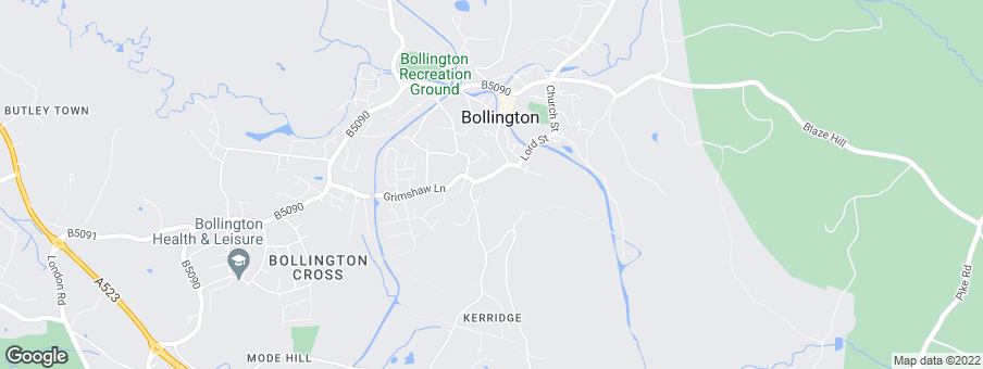 Map for Bellway Homes (Manchester)