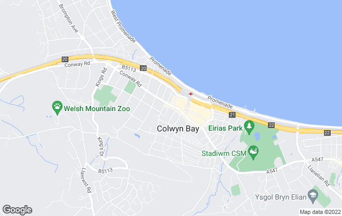 Map for Sterling Estate Agents & Valuers, Colwyn Bay