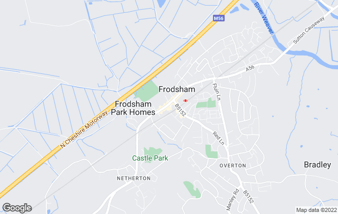 Map for Ian J Tickle, Frodsham