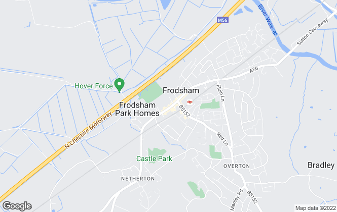 Map for Swetenhams, Frodsham
