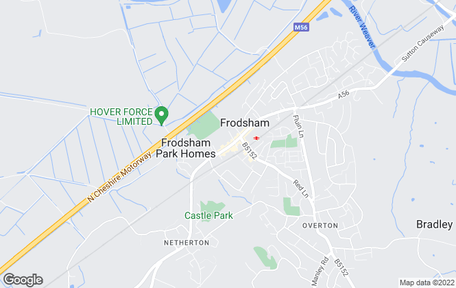 Map for Swetenhams - Lettings, Frodsham Lettings