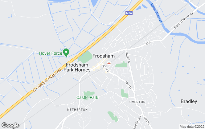 Map for YOUR MOVE Andrew Hayes, Frodsham