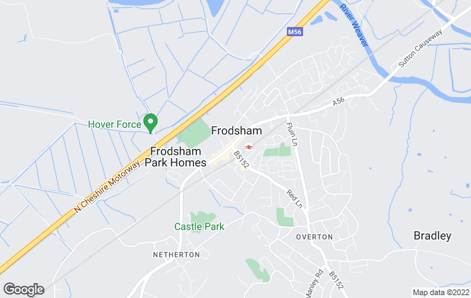 Map for YOUR MOVE Andrew Hayes Lettings, Frodsham