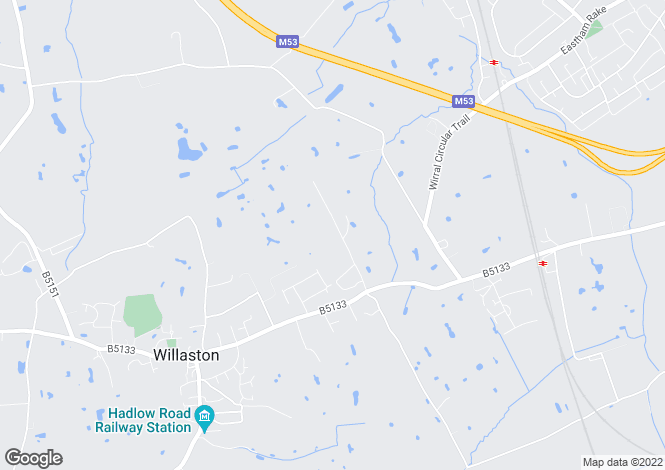 Map for Street Hey Lane, Willaston