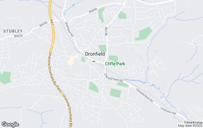 Map for Staves Estate Agents, Dronfield