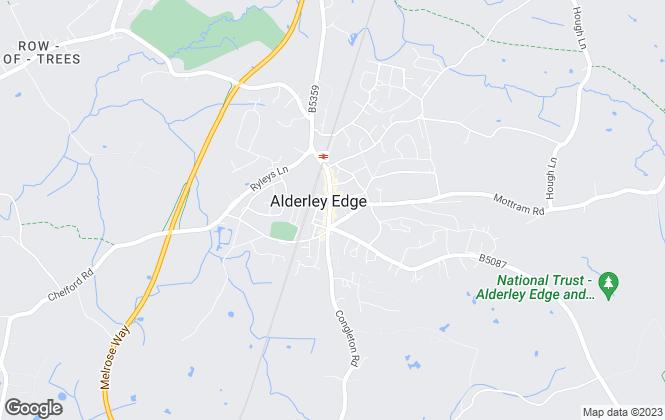 Map for Michael J Chapman, Alderley Edge