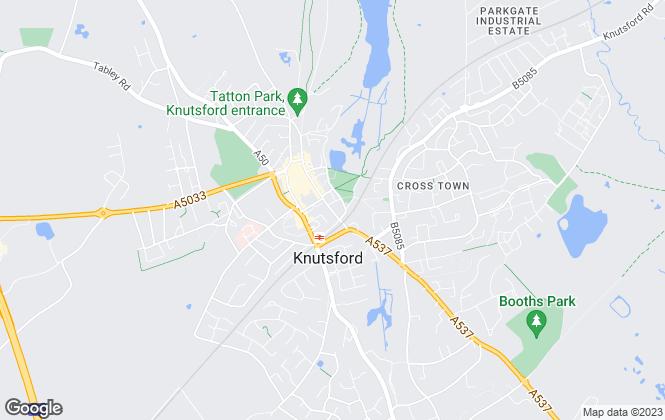 Map for Stuart Rushton & Co, Knutsford