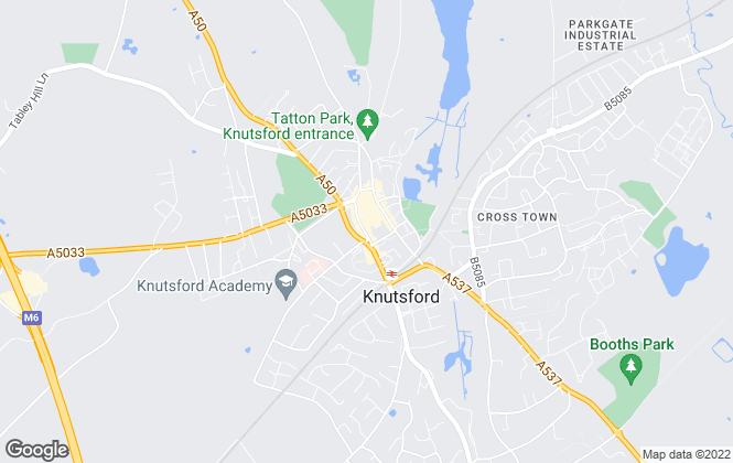 Map for Wright Marshall Estate Agents, Knutsford