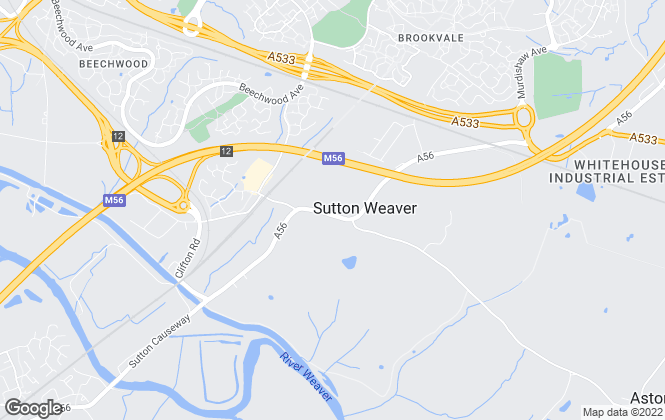 Map for Bizzi Bee Lettings, Frodsham