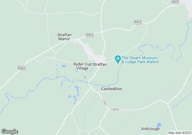 Map for 7 Churchfields, The K Club, Straffan, County Kildare, W23AH74