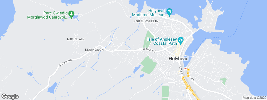 Map for Anwyl Homes