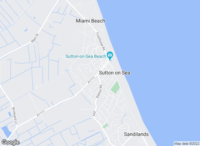 Map for Turner Evans Stevens, Sutton on Sea