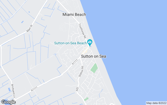 Map for Choice Properties, Sutton-on-Sea