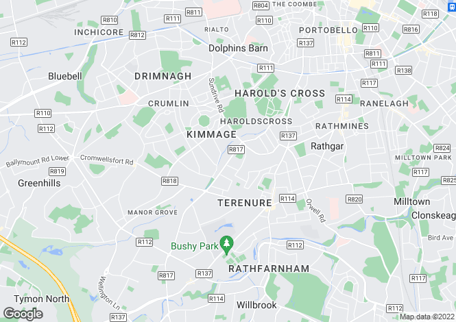 Map for Argus House, 251 Kimmage Road Lower, Kimmage, Dublin 6W