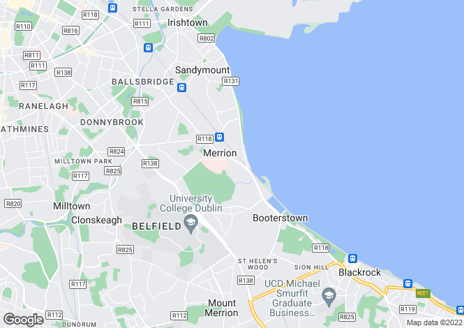 Map for Apartment 1, Fortlands, Herbert Avenue, Ballsbridge, Dublin 4, D04 PW90