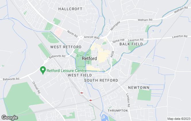 Map for Alexander Jacob Ltd, Retford