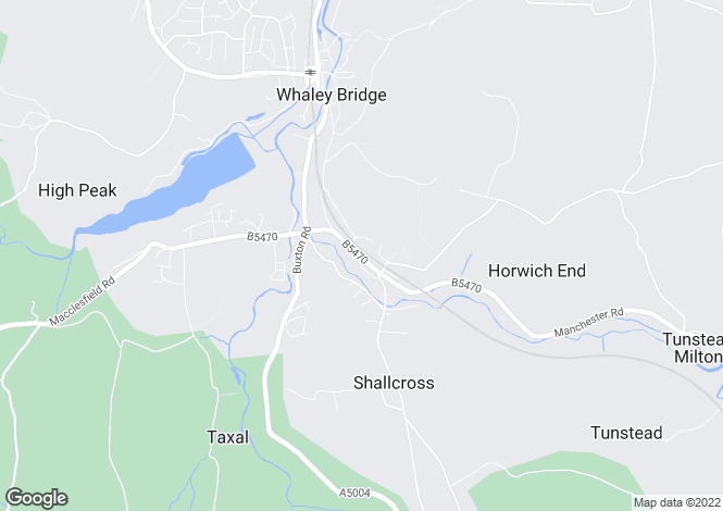 Map for Chapel Road, Whaley Bridge, High Peak, Derbyshire, SK23 7LB