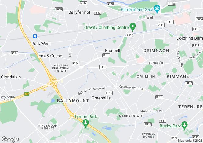 Map for Bridgecourt Office Park, Walkinstown Avenue, Drimnagh, Dublin 12, D12 E265