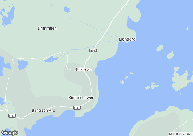 Map for Galway, Kilkieran