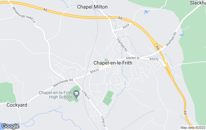 Map for Chandlers Estates Ltd, Chapel-en-le-Frith