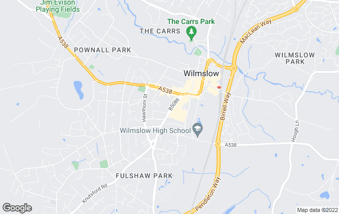 Map for Gascoigne Halman, Wilmslow - Lettings