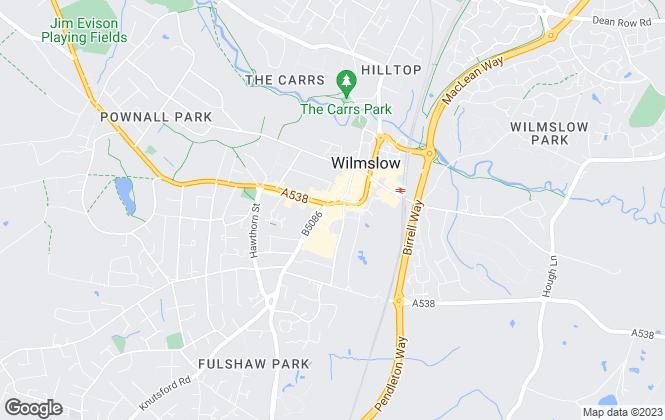 Map for Property Genius Ltd, Wilmslow