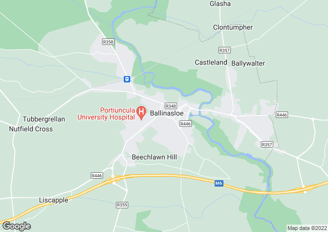 Map for Townspark development, Ballinasloe, Galway
