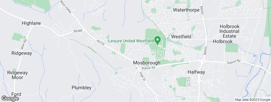 Map for Miller Homes Yorkshire