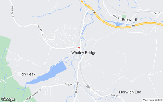 Map for Rowcliffes, Whaley Bridge