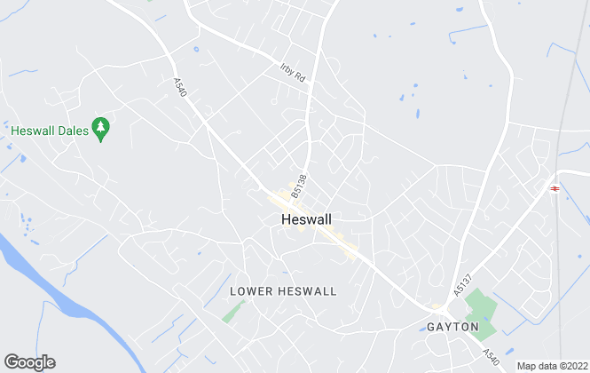 Map for Bradshaw Farnham & Lea, Heswall