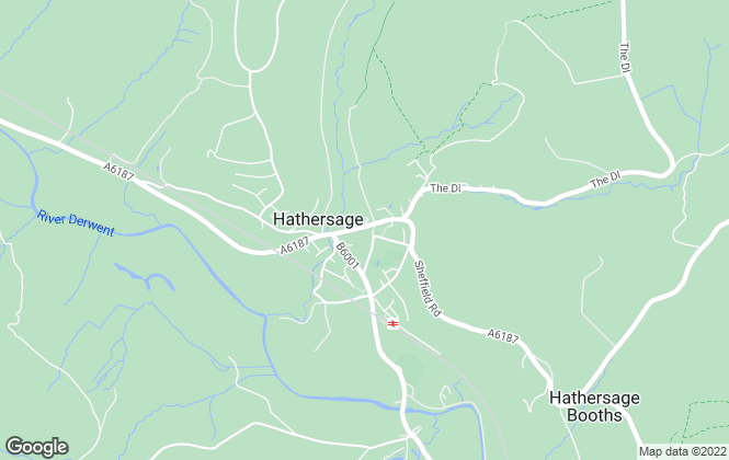 Map for White & Co Property Advisory Limited, Hathersage