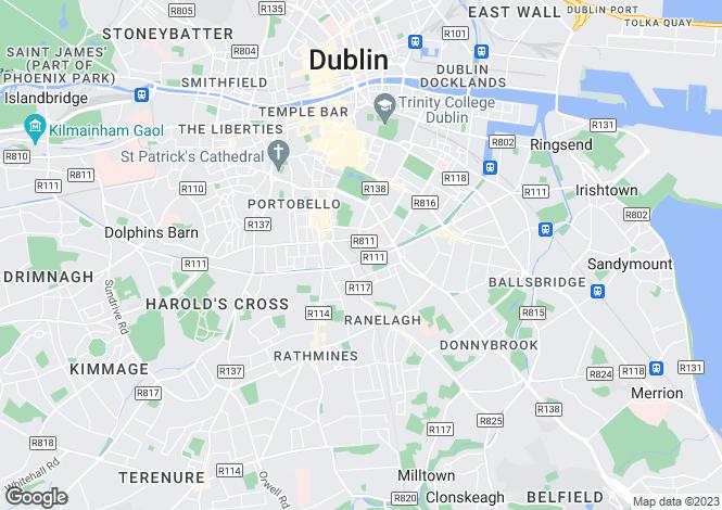 Map for 131 Harcourt Green, Charlemont Street, South City Centre, Dublin 2