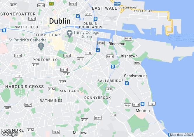 Map for Site, 74 Baggot Lane, Dublin 4