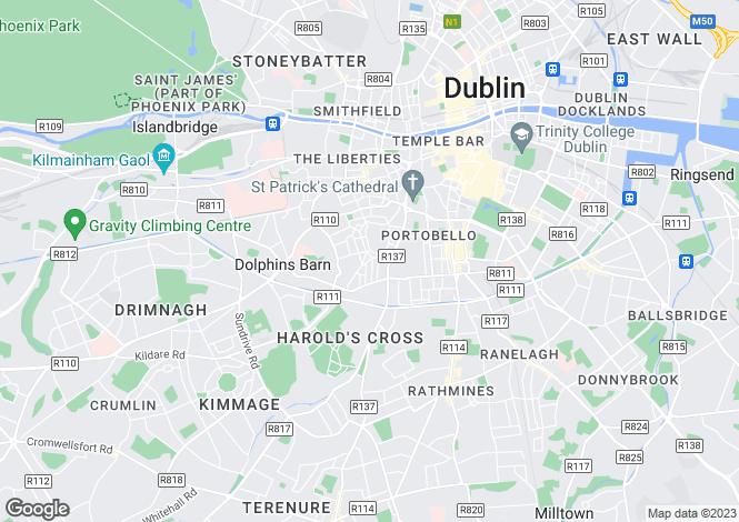Map for 9 Greenville Place, Blackpits, Dublin 8, D08 YR15