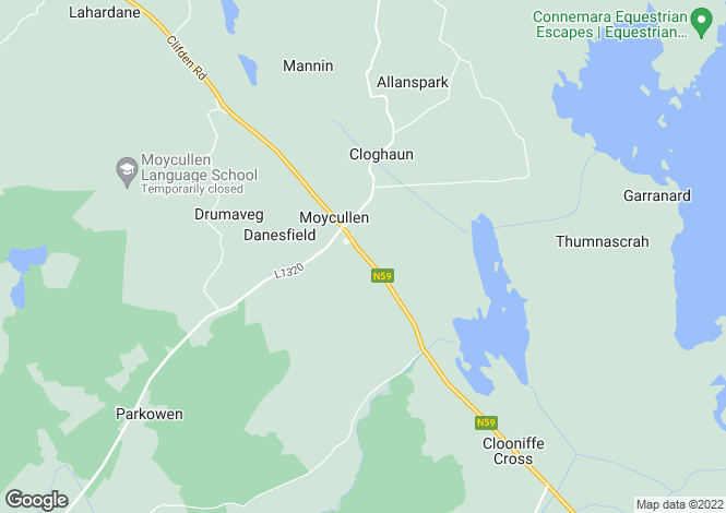 Map for Moycullen, Galway
