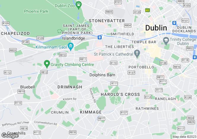 Map for 6 Carrick House, South Circular Road,   Dublin 8