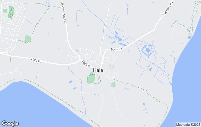 Map for Wignalls Estate Agents, Hale Village